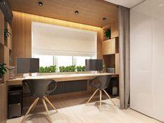 рабочее место у окна в дизайне квартиры 30 кв. м.