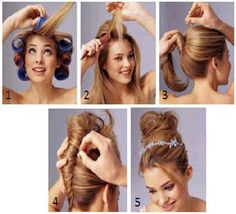 If only I had long hair...this would be my go to for hairstyles.