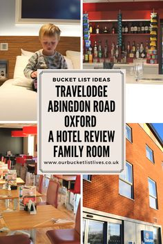 Review of a family room at Travelodge. Hotel review Oxford. Abingdon road Travelodge #travel #hotel #familyfriendly #family #holiday