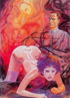Milo Manara | The Official Website | Il pittore e la modella – Otto Dix