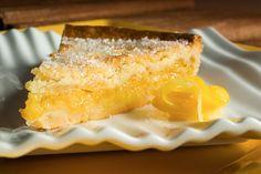 Lemon confit shortbread tart. Photo: Francesco Tonelli for The New York Times