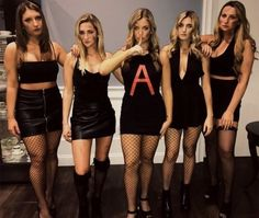 Fantastic DIY Group Halloween Costumes For Your Girl Squad This Season ~ Fas., Fantastic DIY Group Halloween Costumes For Your Girl Squad This Season ~ Fas. Fantastic DIY Group Halloween Costumes For Your Girl Squad Thi. Girl Group Halloween Costumes, Cute Group Halloween Costumes, Cute Costumes, 80s Costume, Halloween Make, Costumes For Women, Woman Costumes, Couple Halloween, Adult Costumes
