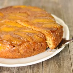 Mango Upside Down Cake- my love mangoes is evident through food