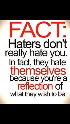 Ce zice lumea despre hateri...#lol