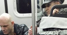 """A Sweet Woman In Vancouver Held This Man's Hand To Calm Him Down On The Train """"I'm a mother and he needed someone to touch."""""""