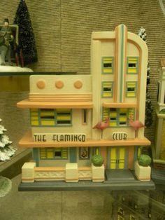 Dept 56 Christmas in the City The Flamingo