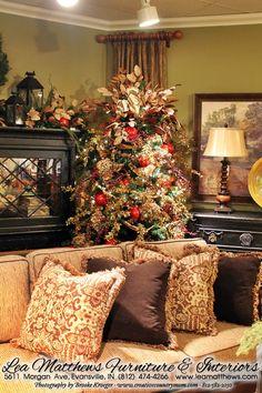 Creative Country Mom's Vintage Home and Garden: Christmas Inspiration - Lea Matthews Interiors