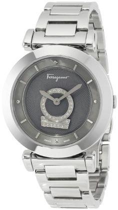 "Salvatore Ferragamo Women's FQ4070013 ""Minuetto"" Diamond-Accented Stainless Steel Watch Salvatore Ferragamo,http://www.amazon.com/dp/B00CPKKD8M/ref=cm_sw_r_pi_dp_tNyztb06C0B212X4"