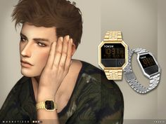 The Sims Resource: Magnetized Watch by toksik • Sims 4 Downloads