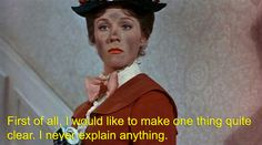 Why Mary Poppins is Messed Up: Also, a word to the wise... DON'T QUESTION THE POPPINS. THE POPPINS HAS NO ANSWERS. EVERYONE KNOWS THAT.