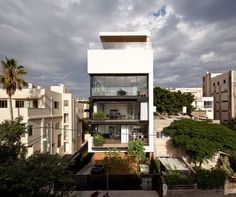 Tel Aviv Town House 1 by Pitsou Kedem Architect Location: Tel Aviv, Israel Photo courtesy: Pitsou Kedem Architect Thank you for reading this article!