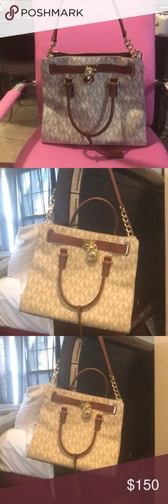 Michael Kors Purse In excellent condition got for a Christmas present last year was too big for my style used maybe three times. KORS Michael Kors Bags Totes