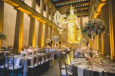 Wedding Reception at the Parthenon in Nashville, TN