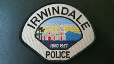 Irwindale Police Patch, Los Angeles County, California (Current 2001 - 5th Issue)