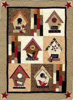 Birdhouse Inspiration (Quilt) - Quilt Pattern