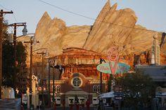 Cars Land!...the newest addition to Disneyland's California Adventure Park smallworldBIGFUN.com  #Disney #DisneyVacations
