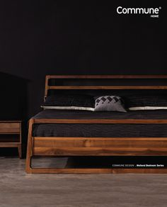The New addition to the exisiting Weiland Collection! The bed frame made from Solid American Walnut and topped off like a cherry on top with KingKoil Mattress.  #designedincommune #interiorideas #commune #roomdecor #roomgoals #homespace #homeinterior #singaporehome #homeinspirations #singaporedesigner #madeinsg #designforeveryday #furnituresg #furniturestore #homedecor #sgfurniture #artofvisuals #photooftheday #interiorgoals #designdeinteriores #housegoals #communehomesg #furnituredesign
