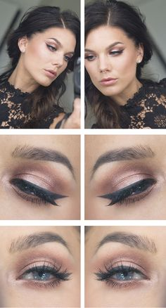 SO GORGEOUS...These are my favorite eye shadow colors. They make my blue eyes POP!
