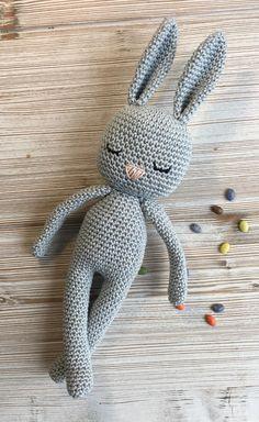 Bunny MADE TO ORDER crochet bunny crochet toy baby bunny