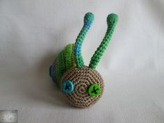 Snail Snail, Crochet Necklace, Christmas Ornaments, Holiday Decor, Jewelry, Jewlery, Jewerly, Christmas Jewelry, Schmuck