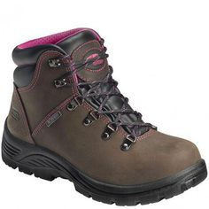 7125 Avenger Women's Waterproof EH ST Safety Boots - Brown