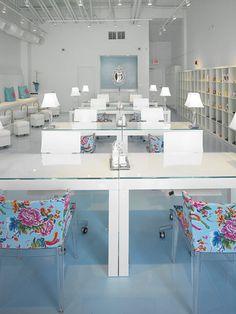 Polished Beauty Lounge - Habachy Designs - Interior Design | Flickr: Intercambio de fotos