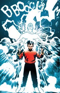 newpaltzcomicbooksunited:   SHAZAM! by Doc Shaner... - Dangerously Cool DC Comics!