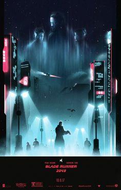 Blade Runner 2049 by Colin Morella - Home of the Alternative Movie Poster -AMP- Rick Deckard, Blade Runner Art, Blade Runner 2049, Space Opera, Denis Villeneuve, Cyberpunk Art, Cyberpunk Aesthetic, Alternative Movie Posters, Movie Poster Art