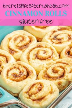 These soft and fluffy gluten free cinnamon rolls are the real deal thanks to a secret ingredient! Complete with flour recommendations and easy step by step instructions. Best Gluten Free Desserts, Gluten Free Recipes For Breakfast, Wheat Free Recipes, Gluten Free Breakfasts, Bread Recipes, Gluten Free Cinnamon Rolls, Gluten Free Flour, Fall Recipes, Food To Make