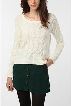 Coincidence & Chance Lightweight Textured Cable Pullover, via Urban Outfitters. $59.00