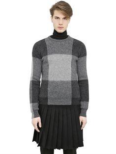 Alexander McQueen - Checked Sweater - LUISAVIAROMA - WORLDWIDE SHIPPING