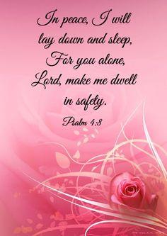 Prayer for rest