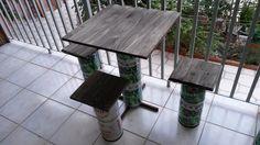 Como fazer uma mesa de bar usando barril de cerveja. http://oficinadoquintal.blogspot.com.br/2014/09/como-fazer-uma-mesa-de-bar-usando.html