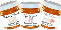 Personalized+Honey+Favors+-+Beach+Theme+(13+designs+available)