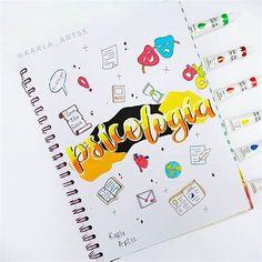 Títulos Bonitos ♥ En 2020 | Libreta De Apuntes, Titulos En Bullet Journal School, Bullet Journal Titles, Bullet Journal Banner, Bullet Journal Writing, Cute Notes, Pretty Notes, Diy Notebook, Notebook Covers, Paper Art Design