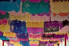 Bandeirolas mexicanas...