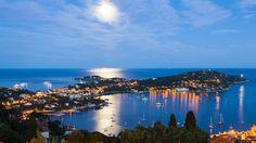 Saint Jean Cap Ferrat from Villefranche-sur-Mer, French Riviera