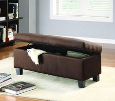Homelegance 471NF Clair Collection Color Rich Chocolate Corduroy