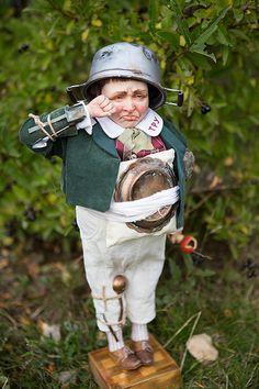 OOAK art doll Tweedledum by Elena Balaksheva Dollena by Dollena