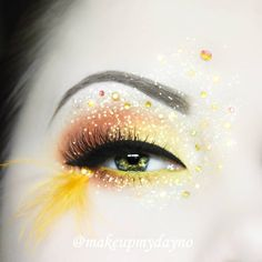 New Easter look  Products used  @houseoflashes Pixie Lux lashes. @nyxcosmeticsnordics @nyxcosmetics Brights Palette.  @litcosmetics Ziggy Stardust glitter.  @eyekandycosmetics candy coin and Venus on fire glitter.  @colourpopcosmetics Creme Gel Liner in Punch.  @makeupstore Liquid Eyeliner in Black and Mixing liquid to apply glitter.  @anastasiabeverlyhills Dipbrow Pomade in Taupe and Brow Powder Duo in Taupe.