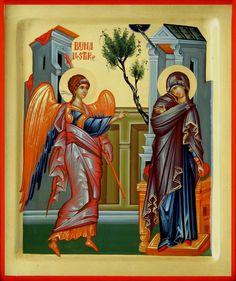 Annunciation by Daniel Neculae