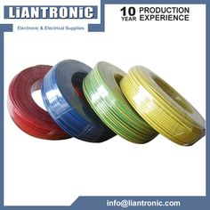 UL1007 PVC Insulated Wire can be widely used to internal wiring of ...