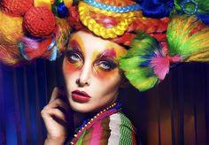 Mia Royal Photography  www.mia-royal.com /  Model: Sana /  Headdress: Rachel Sigmon Posh Fairytale /  Picture, Concept, Make-Up, Styling & Postproduction:  Mia Royal