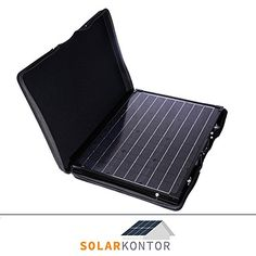 Genial WATTSTUNDE® 100W Solarkoffer MONO WS100SK-S