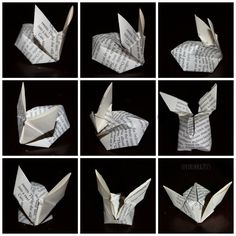 Origami pupu