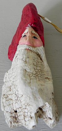 Driftwood Santa from Creative Carved Art, Springfield, OR http://www.creativecarvedart.com