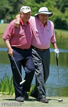 Arnie and Jack - Love Golf? You'll love the Honourable Society of Golf Fanatics. http://golffanatics.org/blog