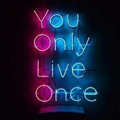 So why not live it to the fullest😏 Neon Light Wallpaper, Lit Wallpaper, Aesthetic Iphone Wallpaper, Wallpaper Quotes, Screen Wallpaper, Neon Aesthetic, Quote Aesthetic, Neon Light Signs, Neon Signs