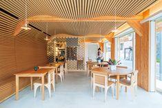 紙管のレストラン!? 設計はあの人です。 | カーサ ブルータス