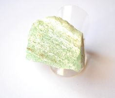 Ring  Apatite N2  adjustable ring base big by SchneiderGallery, $33.00
